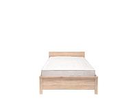 Кровать КАСПИАН LOZ90 дуб сонома - металлическое основание