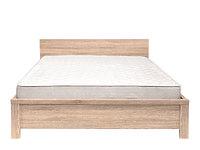 Кровать LOZ160х200_2 дуб сонома КАСПИАН  - металлическое основание