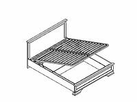 Кровать LOZ160х200 с подъёмным механизмом KENTAKI каштан