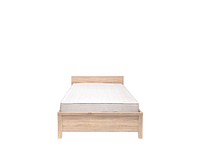 Кровать КАСПИАН LOZ90 дуб сонома - гибкое основание