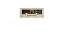 Шкаф настенный DRIFT SFW2W/6/13 ясень коимбра темный / песочный блеск