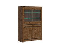 Шкаф REG2W2D с подсветкой дуб april KADA