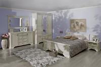 Белая мебель в спальню KENTAKI
